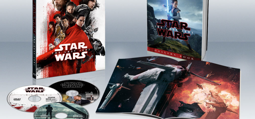 'Star Wars: The Last Jedi' Comes to Blu-Ray, Digital, and DVD in March
