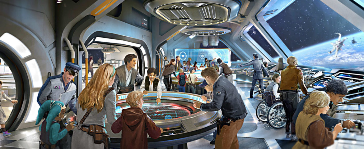 How Disney World's Star Wars-Themed Hotel Will Connect to Galaxy's Edge