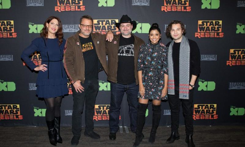 Highlights from the 'Star Wars Rebels' Series Finale Event