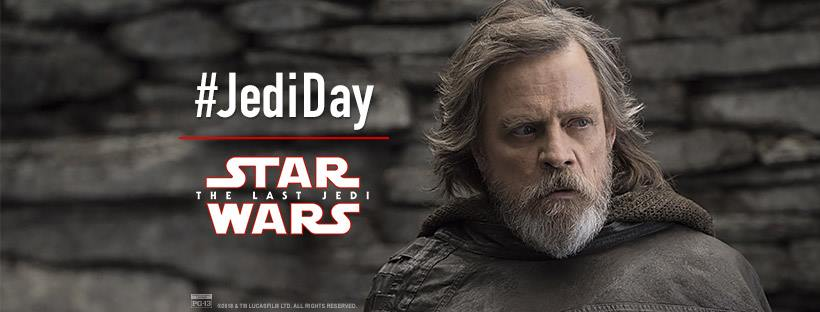 Honoring Mark Hamill on #JediDay, March 8