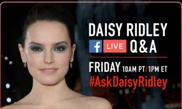Daisy Ridley to Participate in a Live Social Media Q&A this Friday