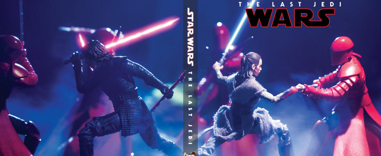 'Star Wars: The Last Jedi' #HasbroToyPic Blu-ray Cover Art!