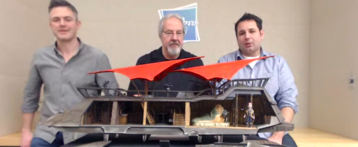 HasLab Shares Details of Jabba's Sail Barge During Google+ Hangout
