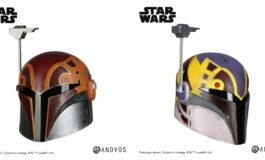 Choose Between Two Star Wars Rebels Sabine Wren Helmet Accessories from Anovos