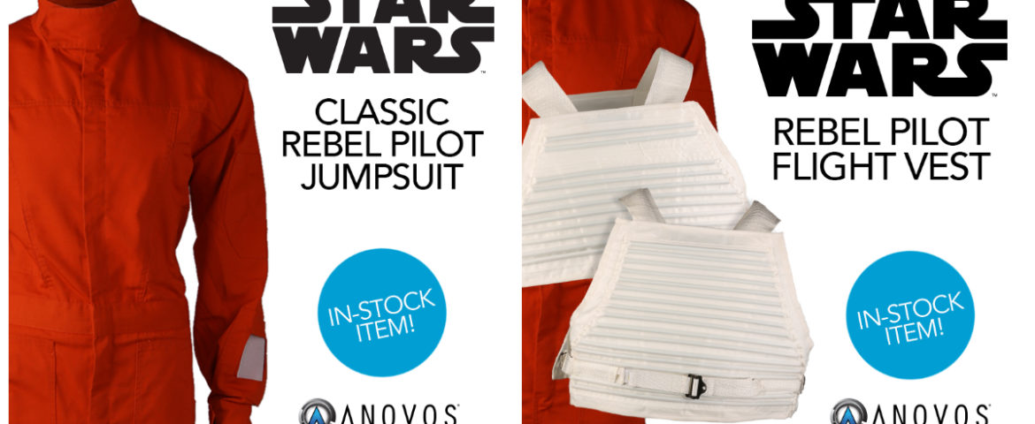 Star Wars Classic Rebel Pilot Jumpsuit and Vest Now Available from Anovos