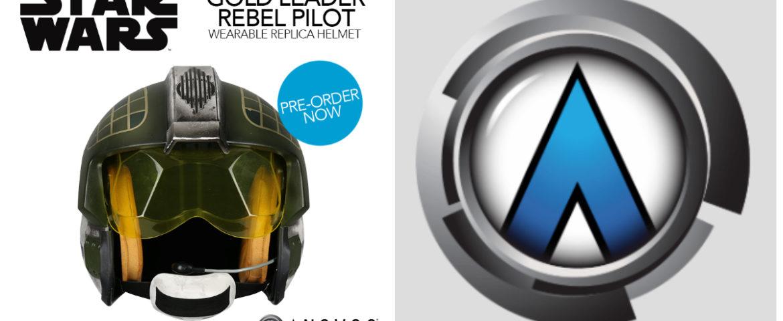 Star Wars Gold Leader Rebel Pilot Helmet Now Open for Pre-Order from Anovos