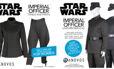 Star Wars Imperial Officer Uniform Pieces for Women Now Available from Anovos