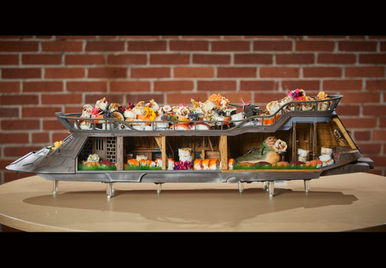 Jabba's Sail Barge is Fully-Funded! Celebrate with... Sushi? Sure!
