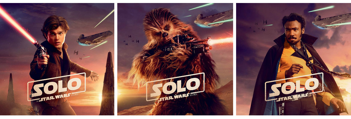 New UK Character Posters for 'Solo: A Star Wars Story'
