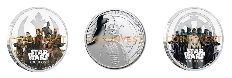 New Star Wars Coin Memorabilia Released