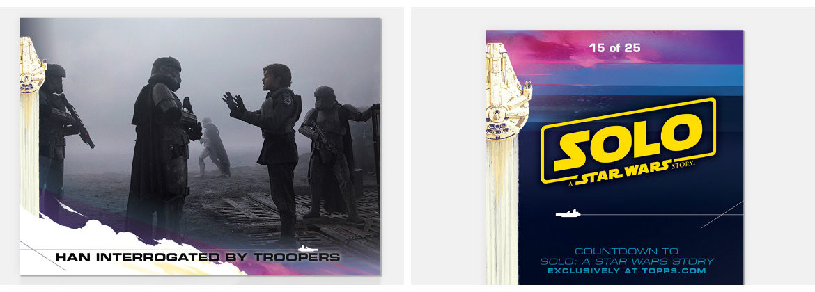 Topps Countdown to 'Solo: A Star Wars Story' Card 15 Now Available