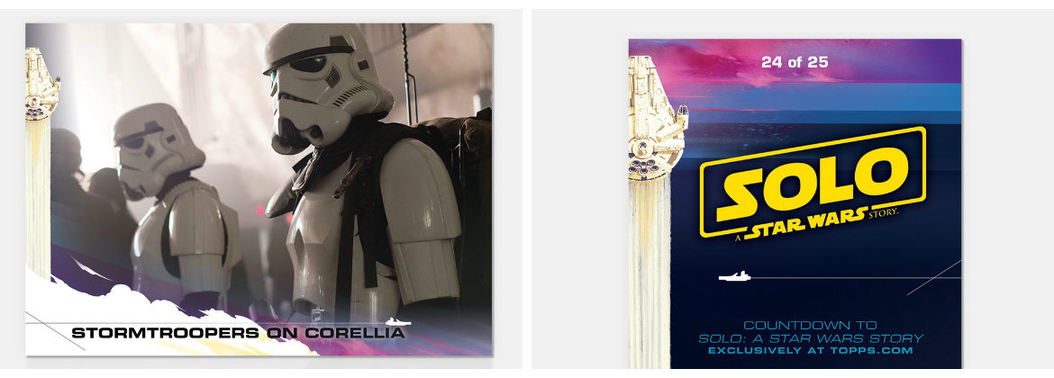 Topps Countdown to 'Solo: A Star Wars Story' Card 24 Now Available