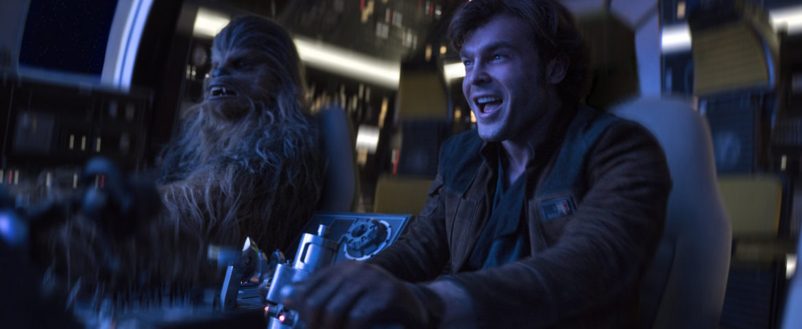 "Syfy Wire Previews ""Solo: A Star Wars Story"" Blu-ray Bonus Featurette ""Team Chewie"""