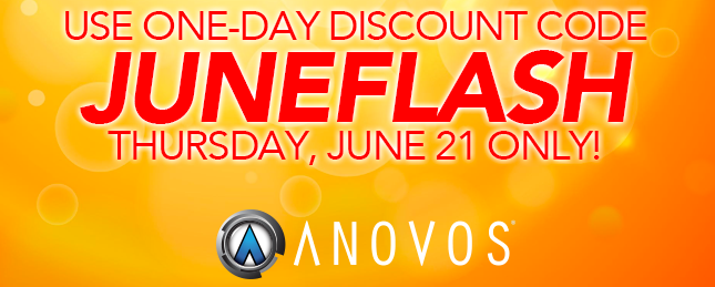 Summer Flash Sale! 15% OFF All In-Stock Items from Anovos