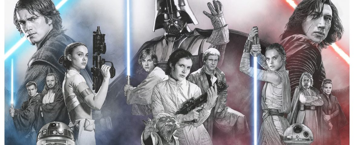 SDCC 2018: Trends International and Artist Russell Walks Reveal Exclusive Star Wars Triptych