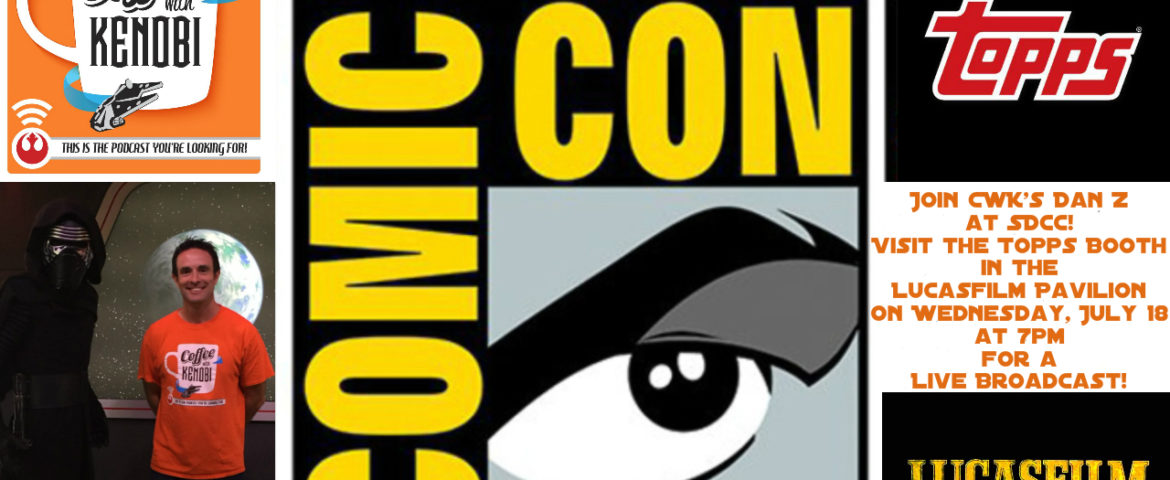 CWK Show #134: LIVE from the Topps Booth at San Diego Comic-Con (227)