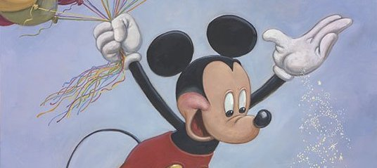 Mickey Mouse's Official 90th Anniversary Portrait Unveiled
