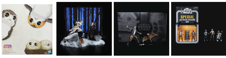 Hasbro's Star Wars SDCC 2018 Exclusives