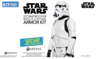 20% Off Star Wars Stormtrooper Kits (In-Stock) from Anovos