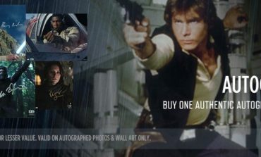 Labor Day Sale at Star Wars Authentics - Buy One Get One Autograph 50% Off, 30% Off Official Photos