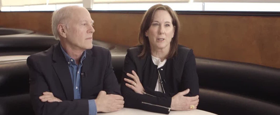Kathleen Kennedy and Frank Marshall to Receive Irving G. Thalberg Memorial Award