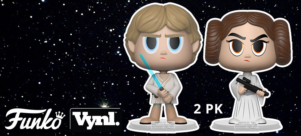 New Star Wars Funko Vynl. 2-Packs on the Way