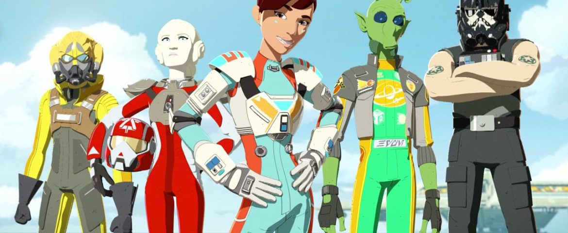 "Star Wars Resistance: ""Meet The Aces"""