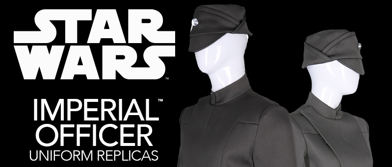 Star Wars | 20% OFF Imperial Officer Replicas from Anovos