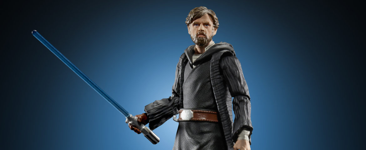 New Hasbro Star Wars NYCC Reveals, Including Vintage Collection Luke Skywalker on Crait