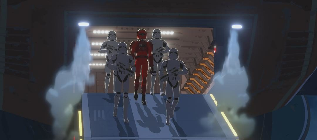 The First Order Arrives on the All-New Episode of Star Wars Resistance; New Images and Video