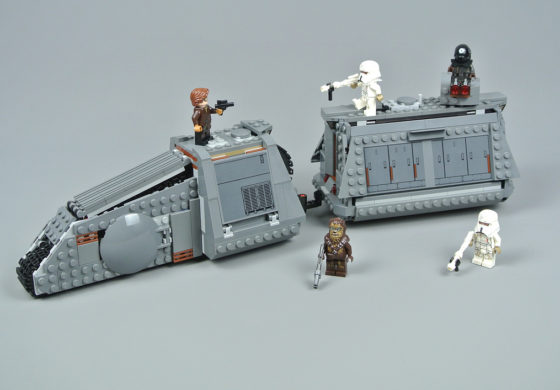 Star Wars Review: LEGO 'Solo: A Star Wars Story' Imperial Conveyex Transport