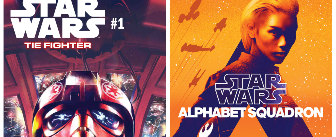 Star Wars: TIE Fighter #1 Arrives This April! Alphabet Squadron Cover Revealed
