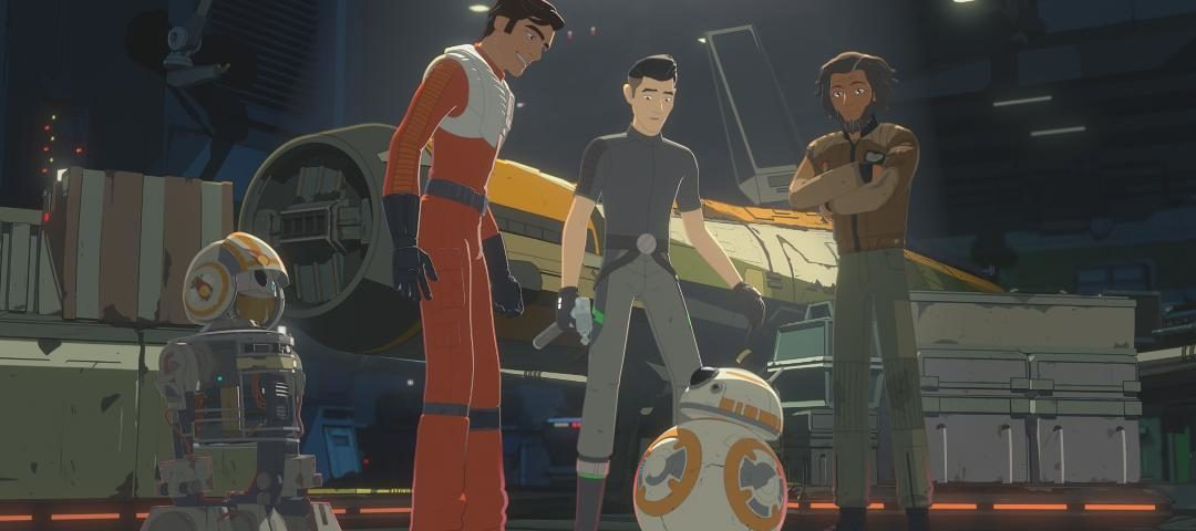 """Poe and Kaz Explore the Unknown Regions on the All-New Episode of Star Wars Resistance, """"The Core Problem"""""""
