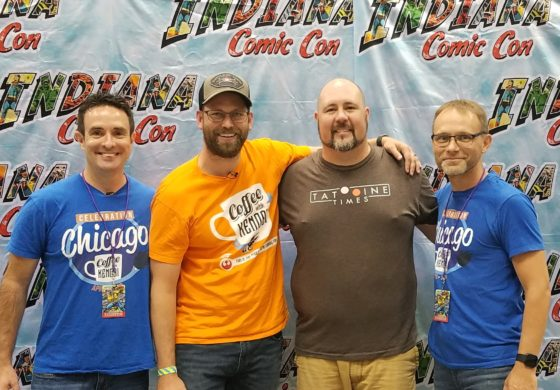 VIDEO: Coffee With Kenobi at Indiana Comic Con LIVE