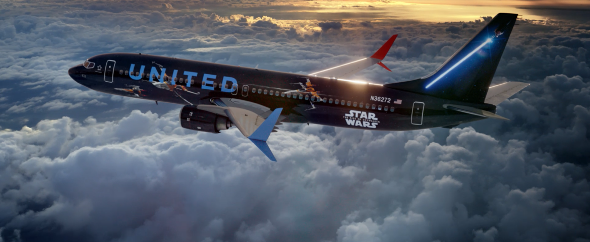 United Airlines Joins Forces with 'Star Wars: The Rise of Skywalker' to Offer Customers Unforgettable Star Wars Experiences