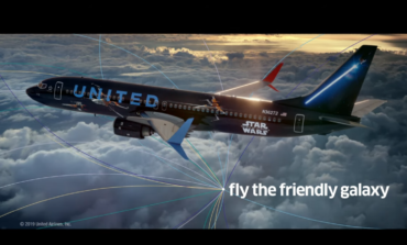 United Airlines Joins with 'Star Wars: The Rise of Skywalker' in a TV Commercial That is Out of This Galaxy