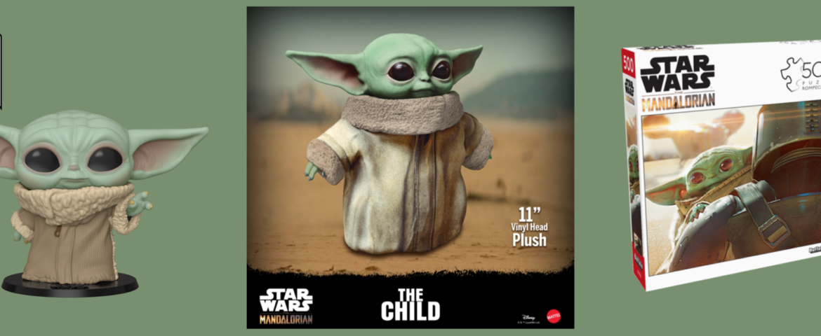 """New """"The Child"""" Toys and Plush Available for Pre-Sale TODAY 12/3"""