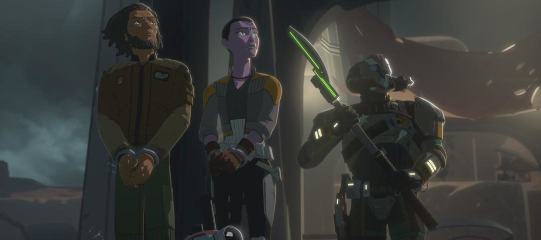 """Kaz Tries to Save His Friends on the All-New Episode of Star Wars Resistance, """"Breakout"""""""