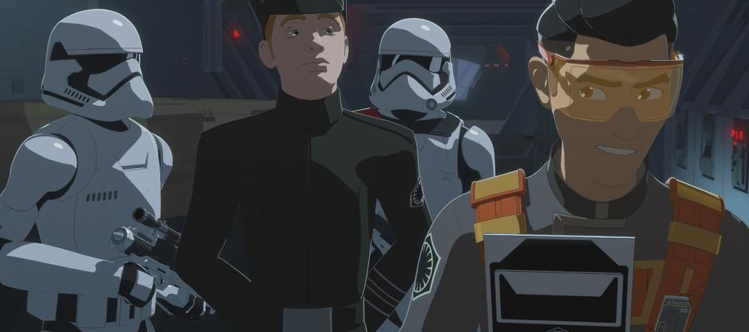 "Kaz and Neeku go Undercover on the All-New Episode of Star Wars Resistance, ""Station to Station"""