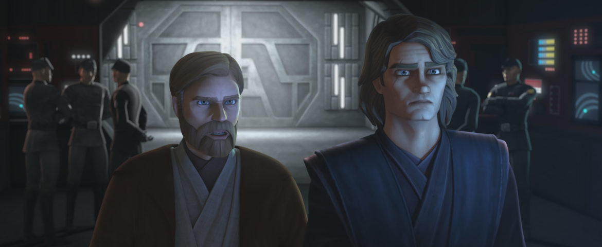 "New Images and Clip for the 'Star Wars: The Clone Wars' Episode ""Old Friends Not Forgotten"""