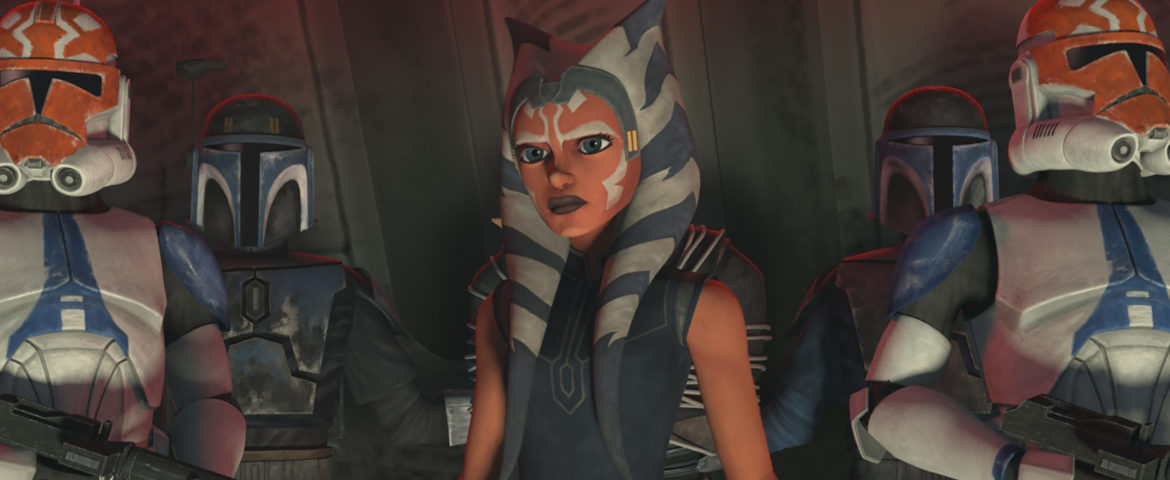 """New Clip and Images for """"Star Wars: The Clone Wars"""" Episode """"Shattered,"""" Plus Maul vs. Ahsoka Featurette"""