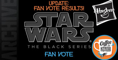 Coffee With Kenobi's Results in the Hasbro Black Series Archive Fan Vote