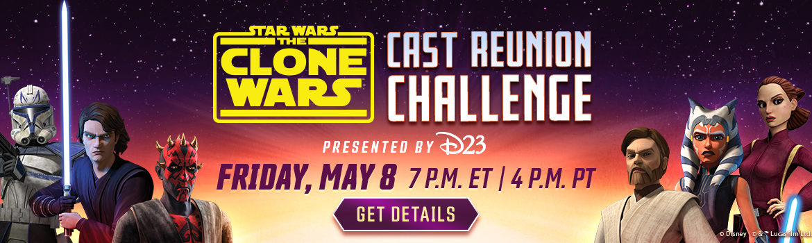 D23 Presents: 'Star Wars: The Clone Wars' Cast Reunion Challenge