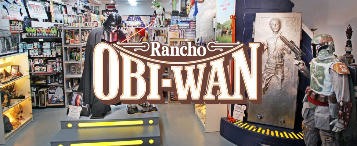 Watch Steve Sansweet via Facebook Live this weekend from Rancho Obi-Wan!