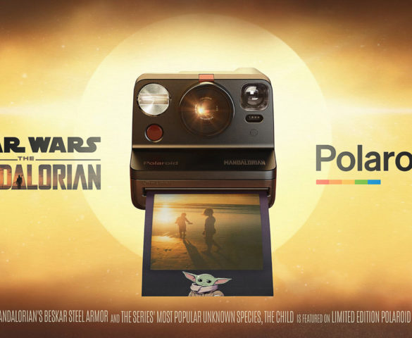 "Polaroid Releases Special Collector's Edition ""The Mandalorian"" Polaroid Now Camera and the Child-Inspired Instant Film"