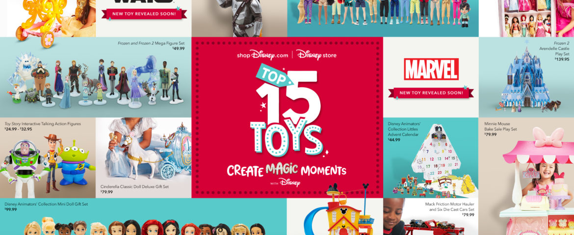 shopDisney.com|Disney Store Unveil the Top 15 Toys for the 2020 Holiday Season