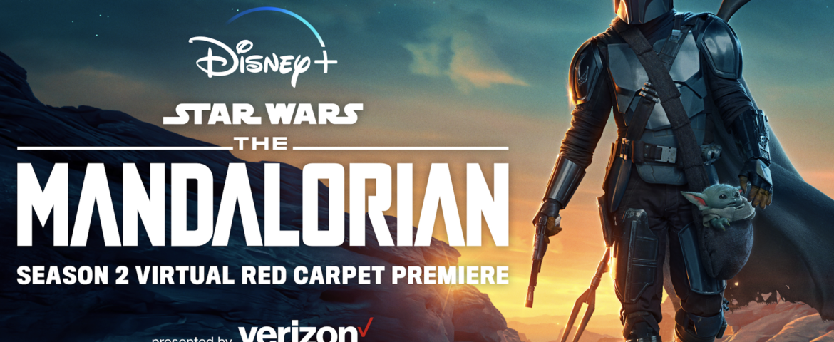 """Disney+ to Bring Fans Together from Across the Galaxy to Celebrate the Launch of Season 2 of """"The Mandalorian"""" with a Virtual Red Carpet Premiere"""