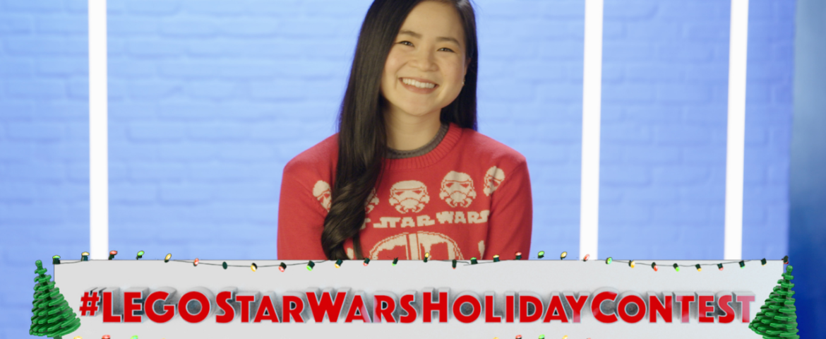 """Star Wars: Force for Change, FIRST, and the LEGO® Group Launch a """"LEGO Star Wars Holiday Contest"""""""