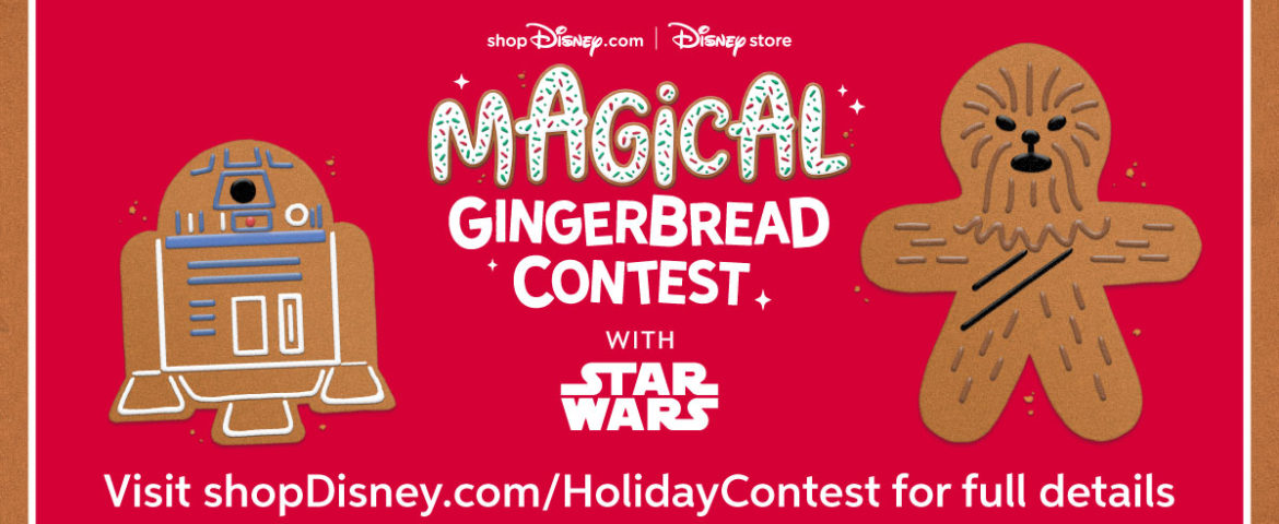 Enter Disney's Magical Gingerbread Contest for a Chance to Win a shopDisney Gift Basket