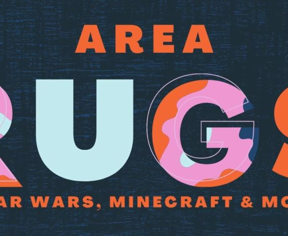 Star Wars and Minecraft Area Rugs Arrive at Toynk